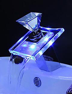 LED מנורת ברז סוללה חסין מים ABS / עור אמיתי