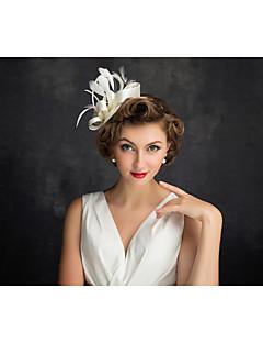 お買い得  フラワーガール-フラメンコフェザーネットの魅力的なヘッドピースクラシックな女性的なスタイル