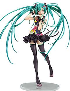 billige Anime cosplay-Anime Action Figurer Inspirert av Vokaloid Cosplay PVC CM Modell Leker Dukke Herre / Dame