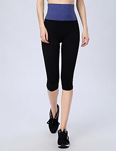 West biking Mulheres Leggings de Corrida Camiseta Segunda Pele Leggings de Ginástica Secagem Rápida Respirável Reduz a Irritação Redutor