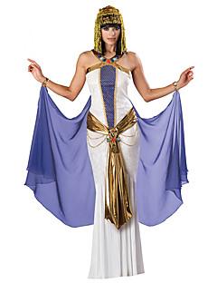 Prinsesse Egyptiske Kostymer Cosplay Kostumer Party-kostyme Kvinnelig Halloween Jul Karneval Festival/høytid Halloween-kostymer Lilla