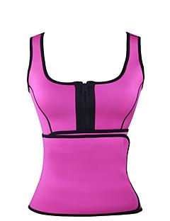 hesapli BURVOGUE®-Göğüs Üstü Korse Yatak kıyafeti,Sporlar Solid-Orta Polyester / Spandeks Kadın