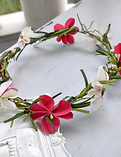 樹脂の花のヘッドピース結婚式の優雅な古典的な女性的なスタイル