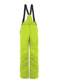 男性用 スキーパンツ 保温 防風 スキー ウィンタースポーツ コットン ポリエステル