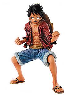 billige Anime cosplay-Anime Action Figurer Inspirert av One Piece Monkey D. Luffy PVC 18cm CM Modell Leker Dukke