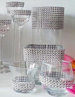 billige Bryllupsbutikken-Diamantbiter Krystall / Akryl / Miljøvennlig materiale Bryllupsdekorasjoner Jul / Bryllup / jubileum Strand Tema / Hage Tema / Asiatisk Tema Vår / Sommer / Høst