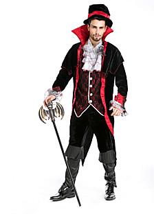 billige Voksenkostymer-Vampyrer Cosplay Kostumer Party-kostyme Mann Halloween Festival / høytid Halloween-kostymer Ensfarget