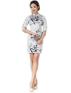 Einteilig Kleid Cosplay Lolita Kleider Blumen Zum
