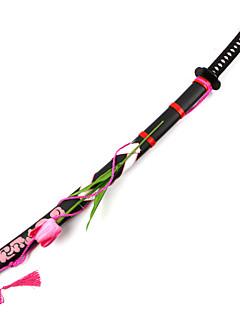 baratos Swords Anime Cosplay-Arma Inspirado por Projecto de Touhou Youmu Konpaku Anime Acessórios para Cosplay Espada Arma Madeira Feminino