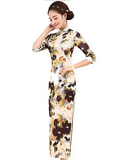 tanie Etniczne & Cultural Kostiumy-Tradycyjne Damskie Spódnice Sukienka typu A-Line Sukienka ołówkowa Cosplay Długi Długość