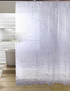 tanie Zasłony prysznicowe Najlepsza sprzedaż-Zasłony prysznicowe Nowoczesny PEVA Kwiatowy / roślinny Wykonane maszynowo