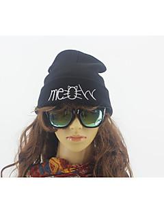 billige Trendy hatter-Unisex Vintage Fritid Beret Geometrisk Bomull