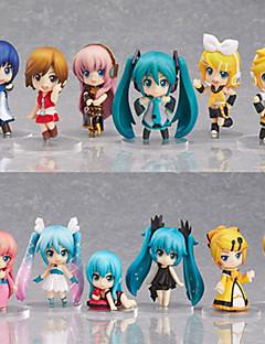 アニメのアクションフィギュア に触発さ Vocaloid Hatsune Miku PVC 6.5 cm モデルのおもちゃ 人形玩具