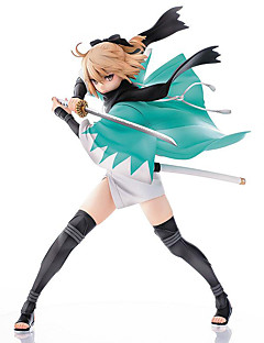 billige Anime cosplay-Anime Action Figurer Inspirert av Fate/Stay Night Saber Lily PVC 20 CM Modell Leker Dukke