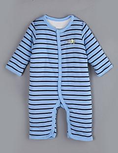 Baby Einzelteil Lässig/Alltäglich Gestreift Baumwolle Winter / Herbst Lange Ärmel