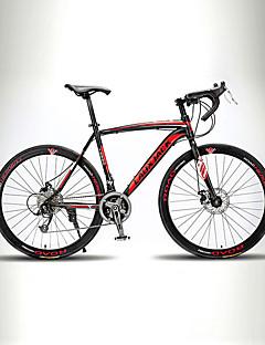 preiswerte Promotion-Rennräder Radsport 21 Geschwindigkeit 26 Zoll/700CC TX30 BB8 Doppelte Scheibenbremsen Ohne Dämpfung Monocoque - Rahmen Ungefederte Rahmen