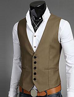 miesten muotityöpaita, kestävä hihaton polyesteri-liivi