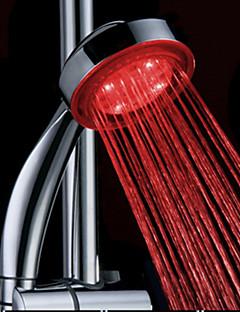 Água Produzido Cor Mudar ABS LED chuveiro de mão