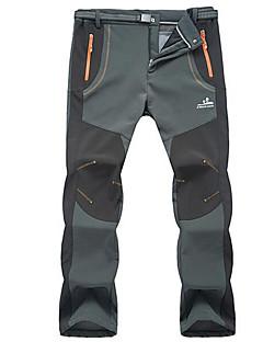 Homens Calças de Esqui Prova-de-Água Térmico/Quente A Prova de Vento Sem Eletricidade Estática Esqui Esportes de Inverno Fibra Sintética