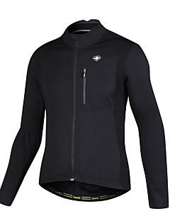 billige Sykkeljakker-SANTIC Herre Sykkeljakke Sykkel Jersey Isolert, Pustende Lapper Sykkelklær