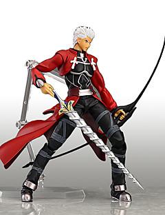 billige Anime Cosplay Tilbehør-Anime Action Figurer Inspirert av Cosplay Cosplay Anime Cosplay Tilbehør figur Rød PVC
