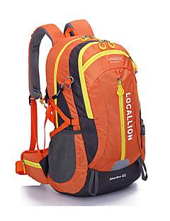 billiga Ryggsäckar och väskor-40L Ryggsäckar / Rese Duffelväska / Ryggsäck - Bärbar Camping, Klättring, Fritid Sport Terylen Svart, Orange, Rubinrött