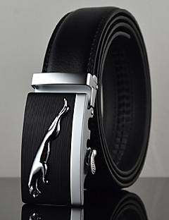 baratos Smokings & Ternos-Homens Luxo Trabalho Casual Pele Liga, Cinto para a Cintura - Fashion Sólido
