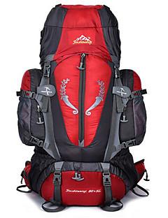billiga Ryggsäckar och väskor-60L Ryggsäckar / Cykling Ryggsäck / ryggsäck - Vattentät, Andningsfunktion, Stötsäker Camping, Klättring, Fritid Sport Nylon Svart,