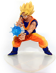 cheap Anime Cosplay Accessories-Anime Action Figures Inspired by Dragon Ball Goku Anime Cosplay Accessories Figure PVC