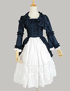 Χαμηλού Κόστους -Γλυκιά Λολίτα Πριγκίπισσα Γυναικεία Μονοκόμματο Φορέματα Cosplay Μακρυμάνικο