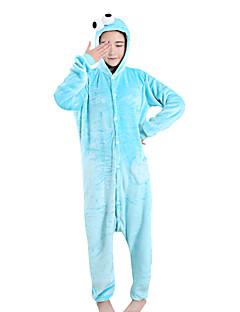 Kigurumi Pyjamas Tegneserie Kostume Fløyel Mink Kigurumi Trikot / Heldraktskostymer Cosplay Festival / høytid Pysjamas med dyremotiv