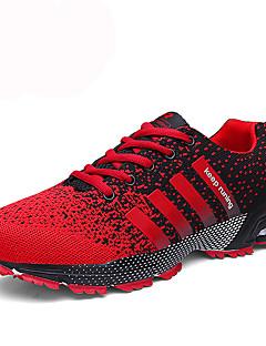 Χαμηλού Κόστους -Ανδρικά PU Φθινόπωρο / Χειμώνας Ανατομικό Αθλητικά Παπούτσια Τέννις Αντιολισθητικό Μαύρο / Κόκκινο / Μαύρο / Άσπρο