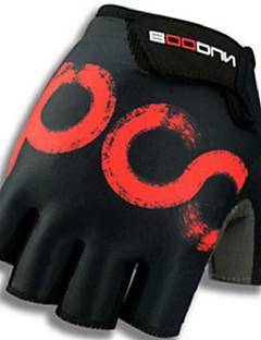 billiga Cykling-BOODUN® Aktivitet/Sport Handskar Cykelhandskar Andningsfunktion / Bärbar / Slitsäker Fingerlösa Lycra Cykling / Cykel / Utför / Längdåkning Unisex