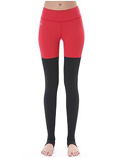 お買い得  ランニングシャツ/パンツ/ショーツ-Yokaland 女性用 ランニングパンツ 速乾性 高通気性 ビデオ圧縮 超軽量生地 サイクリングタイツ ボトムズ のために ヨガ ピラティス エクササイズ&フィットネス ランニング ナイロン タクテル スリム S M L XL
