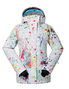 Skikleding Ski/snowboardjassen Dames Winteroutfit Polyester WinterkledingWaterdicht Houd Warm Sneldrogend Winddicht Fleece voering