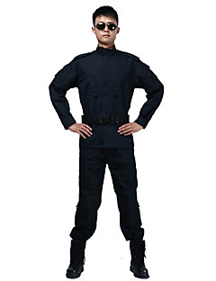 baratos Roupas de Caça-Homens Mulheres Unisexo Manga Longa Jaqueta com Calça de Caçador Vestível Respirável camuflagem Conjuntos de Roupas para Caça S M L XL XXL