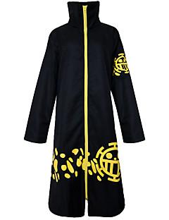 abordables -Inspiré par One Piece Trafalgar Law Manga Costumes de Cosplay Costumes Cosplay Rétro Manches Longues Manteau Pour Unisexe