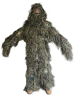 Herrn Damen Unisex Langarm Leafy-Jagdanzug tragbar Atmungsaktiv camuflaje Kleidungs-Sets für Jagd