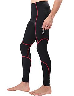 cheji® Sykkeltights Sykkel Bunner Herre Fort Tørring Pustende Komprimering Bekvem Polyester Elastan Klassisk Trening & Fitness