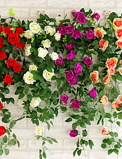 billige Bryllupsbutikken-Bryllup / Fest Plast Bryllupsdekorasjoner Blomster Tema / Klassisk Tema Vår Sommer Alle årstider