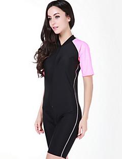 SBART Női Dive Skins Rövid szörfruha Ultraibolya biztos Teljes védelem Chinlon Búvárruha Rövid ujjú Vízhőbuvárruha Rash guard-Úszás