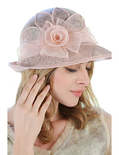 cheap Accessories' New Ins-Women's Linen Bucket Hat Sun Hat,Cute Party Work Casual Solid Spring Summer Fall