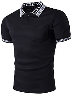 Sports Casual/Daily Simple T-shirt,Solid Round Neck Short Sleeves Cotton