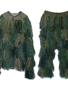 Uniszex Hosszú ujj Vadász leveles öltözék Szélbiztos Kényelmes Ruházati kollekciók mert Vadászat Terepszínű