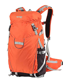 billiga Ryggsäckar och väskor-35 L Backpacker-ryggsäckar Kameraväskor Cykling Ryggsäck Camping Klättring Resa Cykling Vattentät Regnsäker Bärbar MultifunktionellNylon