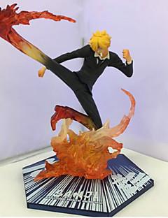billige Anime cosplay-Anime Action Figurer Inspirert av One Piece 山治 15.5 CM Modell Leker Dukke