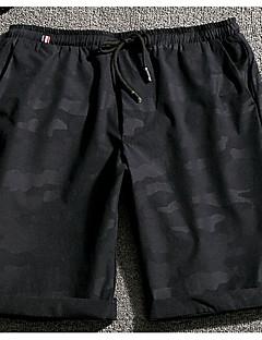 billige Herrebukser og -shorts-Herre Fritid Aktiv Klassisk & Tidløs Rett Aktiv Shorts Joggebukser Bukser Kvadrat Kamuflasje