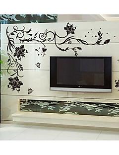 Χαμηλού Κόστους Αυτοκόλλητα Τοίχου Λουλουδιών/Φυτών-Τοπίο Ρομάντζο Μόδα Άνθη Βοτανικό Φαντασία Αυτοκολλητα ΤΟΙΧΟΥ Αεροπλάνα Αυτοκόλλητα Τοίχου Διακοσμητικά αυτοκόλλητα τοίχου, Βινύλιο