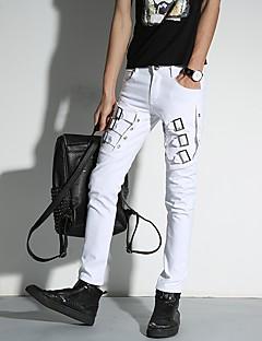 junge Männer koreanische Version des Frühlings und Sommers Persönlichkeit beiläufige Hosen Füße lange Hosen Gezeiten Bleistifthosen der