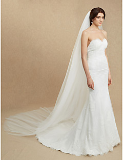 Two-tier Wedding Veil Cathedral Veils With 116.14 in (295cm) Tulle